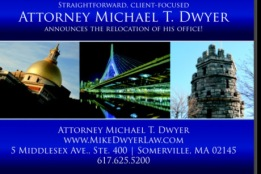Michael T. Dwyer Attorney At Law Assembly Square Somerville