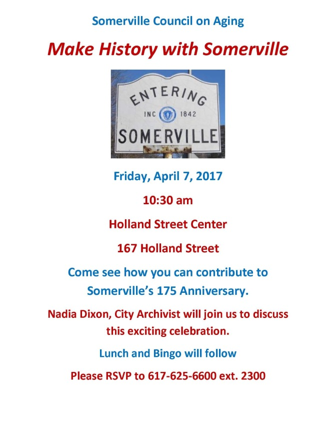 Make History With Somerville
