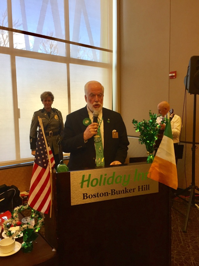 2017 Somerville Kiwanis Club Annual St. Patrick's Day Divisional Interclub Luncheon