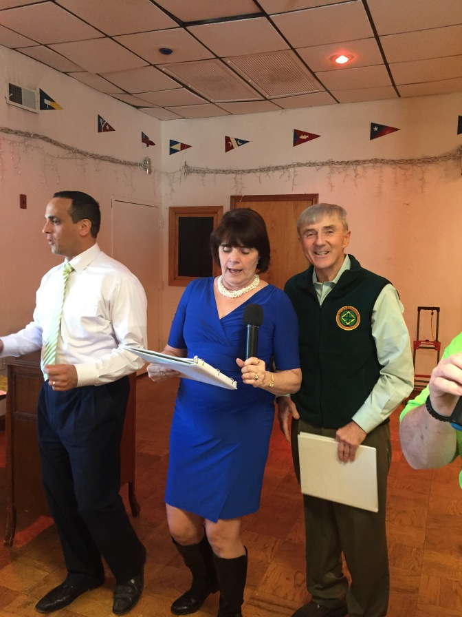 All Happy Green Smiles at 2017 Somerville COA Seniors St. Patrick's Day Party